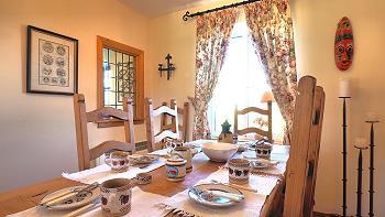 Table de la salle à manger pour 6 personnes