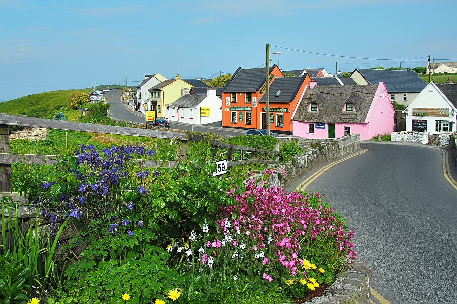 The Wild Atlantic Way The West Of Clare Ireland Accommodation Doolin