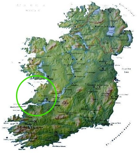 The West Of Ireland Where Is County Clare The Wild Atlantic Way - Where is ireland