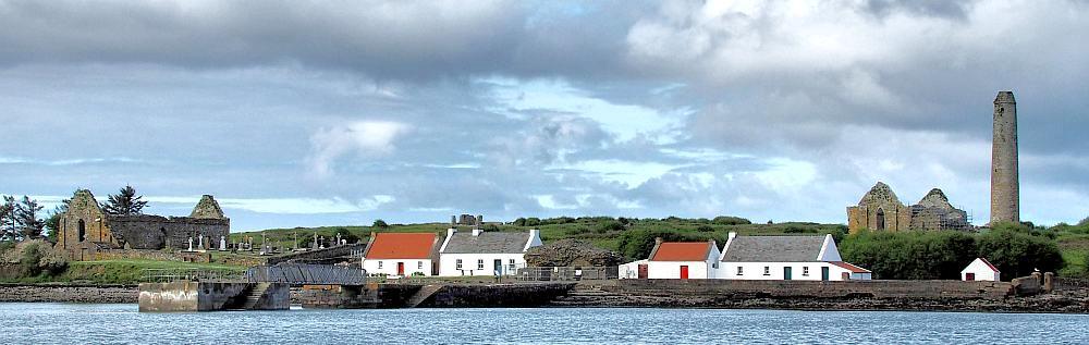 Bild von Scattery Island, Ireland