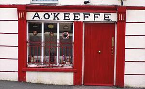 Le pub traditionnel O'Keefes à Cooraclare
