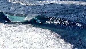 Le surf à clare d'ouest